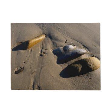 Beach Themed Beach/Sand/Stones/Rocks/Pebbles Doormat