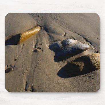 Beach Themed Beach/Sand/Stones/Rocks/Pebbles Mouse Pad