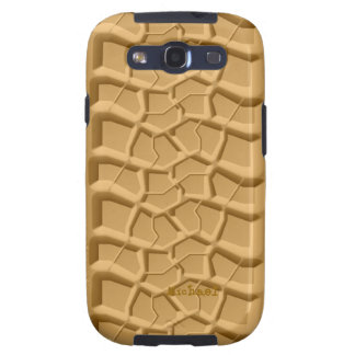 Beach Sand Truck Tire Print  Samsung Galaxy S2 Cas Galaxy SIII Case