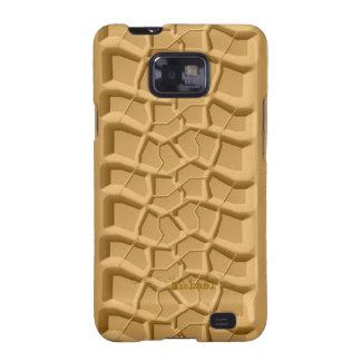 Beach Sand Truck Tire Print  Samsung Galaxy S2 Cas Galaxy SII Cover