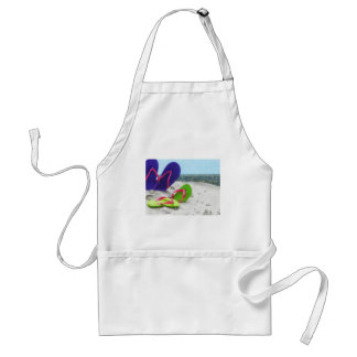 beach sandals adult apron