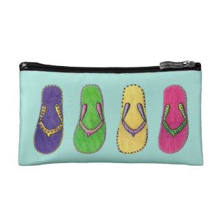 Beach Sandals Cosmetic Bag