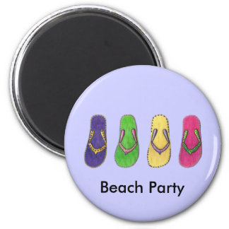 Beach Sandals Magnet