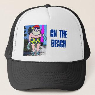Beach Santa 3 Trucker Hat