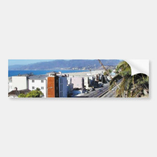 Beach Santa Monica Ocean Bumper Sticker