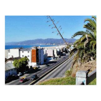 Beach Santa Monica Ocean Postcard