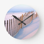 Beach Santa Rosa Island Seashore Round Wall Clock