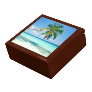 Beach Scene 2 Jewelry Box