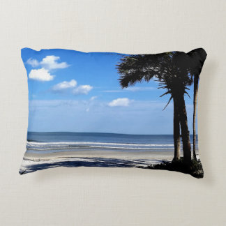 Beach Scene Accent Pillow