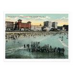 Beach Scene, Atlantic City Vintage Post Cards