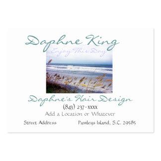 Beach Scene Business Card Template by SRF