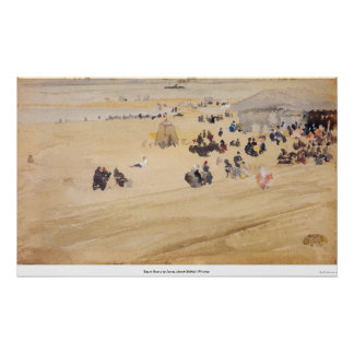 Beach Scene by James Abbott McNeill Whistler Posters