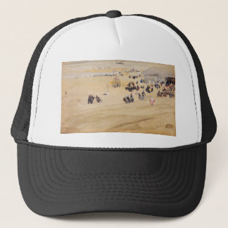 Beach Scene by James Abbott McNeill Whistler Trucker Hat
