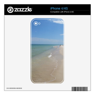 Beach Scene iPhone 4S Skin