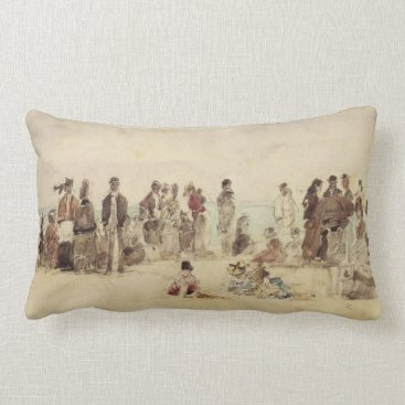 Beach Scene Lumbar Pillow