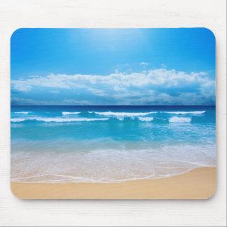 Beach Scene Mouse Pad