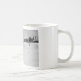 Beach Scene Classic White Coffee Mug