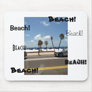 Beach scene on Mouse Mouse Pad