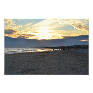 Beach Scene Picture Photograph