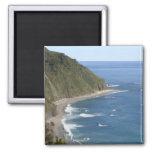 Beach Scene Refrigerator Magnet