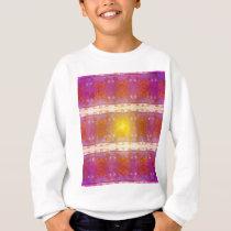 Beach Scene Retro Pattern Sweatshirt