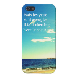 Beach Scene - Search With the Heart iPhone 5/5S Covers