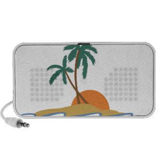 Beach Scene Mini Speaker