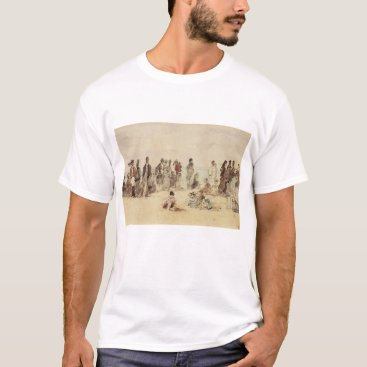 Beach Themed Beach Scene T-Shirt
