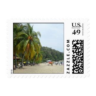 Beach Scene Teluk Batik Small Stamp