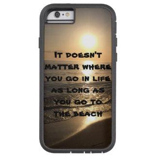 Beach scene tough xtreme iPhone 6 case