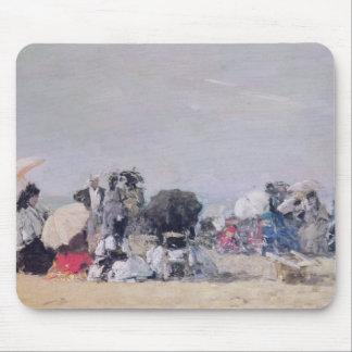 Beach Scene, Trouville, 1873 Mouse Pad