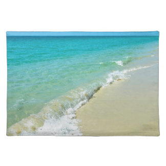 Beach scenery placemat