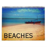 beach scenes 2021 calendar