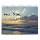 Beach Scenes Calendar