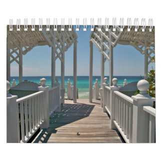 Beach Scenes of Beautiful Seaside, Florida Calendar