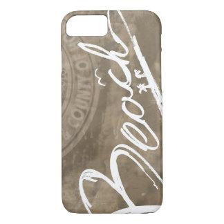 Beach Script Handwritten iPhone 7 iPhone 8/7 Case