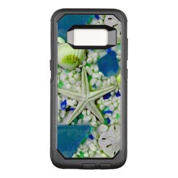 Beach Themed Beach Sea Life Design OtterBox Commuter Samsung Galaxy S8 Case