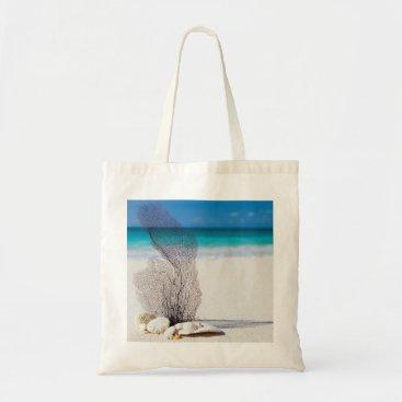 Beach Themed Beach, Sea Shells and Sea Tote Bag