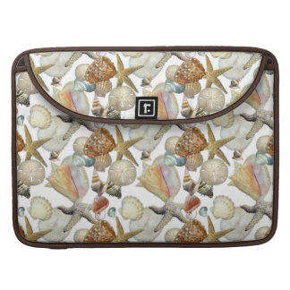 Beach Sea Shells MacBook Pro Sleeve