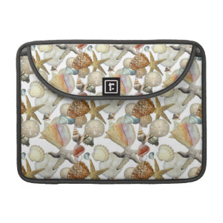 Beach Sea Shells Sleeves For MacBook Pro
