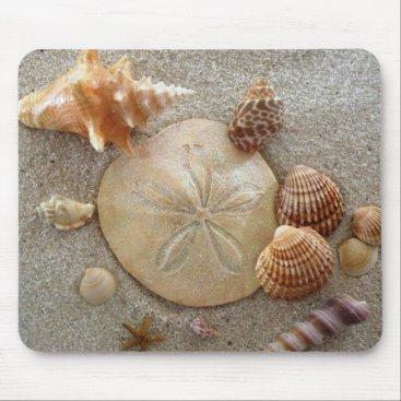 CustomKeepsakes Beach Sea Shells Mousepad