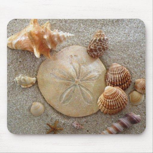 Beach Sea Shells Mousepad