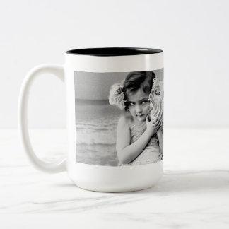 Beach Sea Shelly by the Seashore Coffee Mug