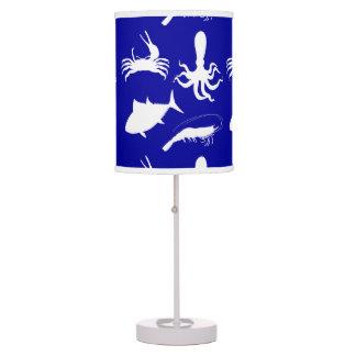 beach theme table pendant lamps zazzle. Black Bedroom Furniture Sets. Home Design Ideas