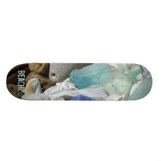 Beach Seaglass Skateboard Art Designs Coast Fossil