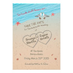 Beach seagull Save the Date ESPECIALLY for BRONWYN Card
