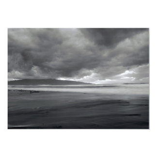 Beach seascape card
