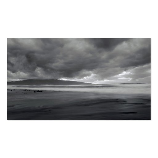 Beach seascape - Pocket calendar Double-Sided Standard Business Cards (Pack Of 100)