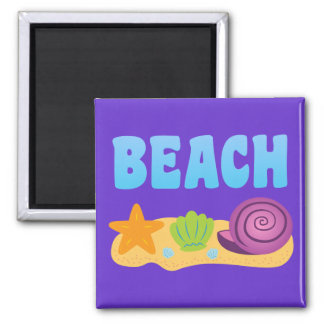 Beach Seashells Magnet