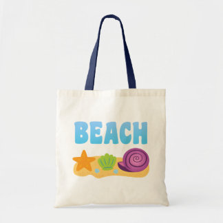 Beach Seashells Tote Bag